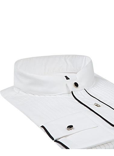 Damat Klasik Gömlek Beyaz